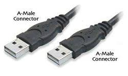 USB kabel A-A, 1 m - 10477