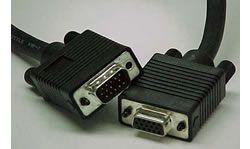 VGA verlengkabel, 30 m, Zwart - 11550