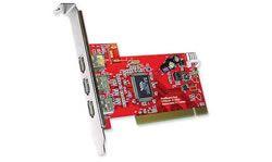 Unibrain FireBoard Red, 3 port FireWire PCI kaart - 11788