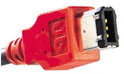 Unibrain FireWire kabel, 6-4 polig, 2m - 11816