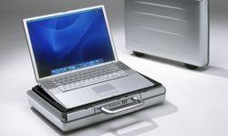 TiCase15 II, koffer voor de Powerbook G4 Aluminium - 12085