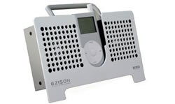 Bird EZISON iPod Stereo Speaker EZ2mWS voor iPod mini, Wit - 12587
