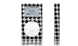 Tunewear POPTUNE Houndstooth, voor iPod mini - 12615