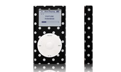 Tunewear POPTUNE Polka Dot, voor iPod mini - 12618