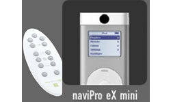 TEN naviPro ex mini, IR afstandsbediening, voor alle iPod mini - 12622
