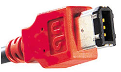 Unibrain FireWire Kabel, 6-4 polig, 20 m - 12705