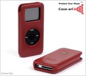 Case-Mate Signature Etui voor iPod nano, Sienna Red - 13266