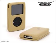 Case-Mate Signature Etui voor iPod classic en 5G thin, Golden Tan - 13422