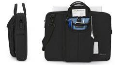 Brenthaven MetroLite III Jet Black, Tas voor notebooks tot 17 inch - 14282