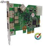 Unibrain FireBoard800-e, PCI Express FireWire800 Kaart, bulk - 14524