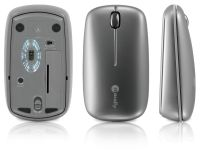 Macally MMouse BT, 3-Knops Laser Muis met Bluetooth - 15622