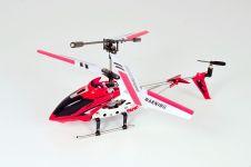 iSuper iHeli 007, kleine Helikopter met BT bediening via iApp, Rood - 16987