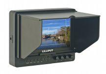 Lilliput 665/S/P, 7 inch (1024x600) Viewfinder met HD-SDI - 17097