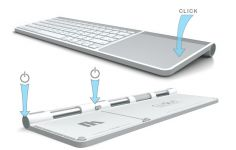 Zoom in op Henge Docks Clique voor Apple Wireless Keyboard & Trackpad
