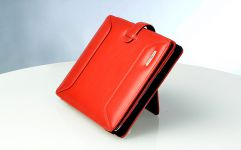 Ten97 9701 Series Leather Folio voor iPad 4, 3 & 2, Rood - 17158
