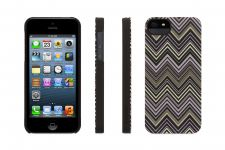 Griffin Chevron, iPhone 5 Case, Zwart - 17402