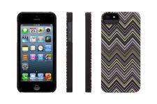 Griffin Chevron, iPhone 5 Case, Zwart - 17402