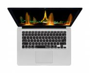 Franse AZERTY ISO Keyboard Cover voor MacBook, Air & Pro - 17508