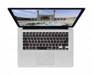 Perzische (Farsi) ISO Keyboard Cover voor MacBook, Air & Pro met QWERTY Layout - 17514