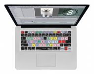 Final Cut Pro/Express QWERTY Keyboard Cover voor MacBook, Air & Pro - 17664