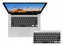 Turkse ISO Keyboard Cover voor MacBook, Air, Retina, Pro & Wireless Toetsenbord - 17758