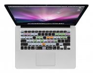 Zoom in op MacOS X QWERTY Keyboard Cover voor MacBook, Air & Pro