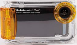 Rollei UW-i5, Underwater Case for iPhone 5, yellow - 17774