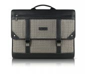 Joseph Abboud Hartford Messenger Case voor MacBook Pro 15, Zwart - 17782