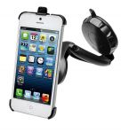 muvit Car Holder, Autohouder voor iPhone 5 / 5S, Zwart - 17786