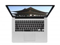 Koreaanse ISO Keyboard Cover voor MacBook, Air & Pro, Toetsenbord - 18208