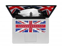 Union Jack ISO Keyboard Cover voor MacBook, Air & Pro - 18210