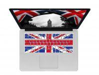 Zoom in op Union Jack ISO Keyboard Cover voor MacBook, Air & Pro