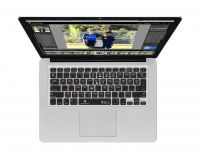 Zoom in op Lightroom QWERTY Keyboard Cover voor MacBook, Air & Pro