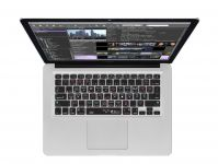 Zoom in op CatDV QWERTY Keyboard Cover voor MacBook, Air & Pro