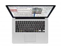 Sibelius QWERTY Keyboard Cover voor MacBook, Air & Pro - 18217