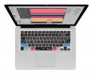 Zoom in op Logic Pro X QWERTY Keyboard Cover voor MacBook, Air & Pro
