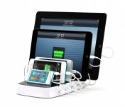 Zoom in op Griffin PowerDock 5 voor alle iPad, iPhone en iPod touch, wit