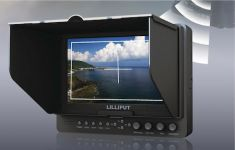 Lilliput 665/O/WH, 7 inch (1024x600) Viewfinder met WHDI - 18414