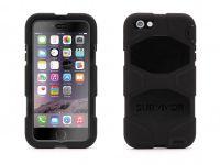 Zoom in op Griffin Survivor All-Terrain, iPhone 6 Plus Case, Zwart