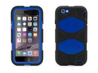 Griffin Survivor All-Terrain iPhone 6 Case, Zwart Blauw - 18489