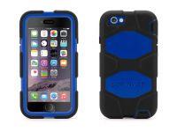 Griffin Survivor All-Terrain iPhone 6 Case, Zwart Blauw - 18489