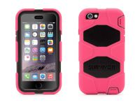 Griffin Survivor All-Terrain iPhone 6 Case, Pink Zwart - 18490