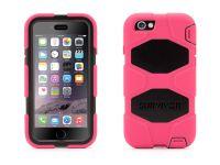 Zoom in op Griffin Survivor All-Terrain iPhone 6 Case, Pink Zwart