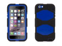 Griffin Survivor All-Terrain, iPhone 6 Plus Case, Zwart Blauw - 18491