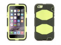 Zoom in op Griffin Survivor All-Terrain, iPhone 6 Plus Case, Olijf Citroen