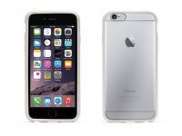 Zoom in op Griffin Reveal, iPhone 6 Plus Hard Case, Wit Transparant