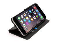 Zoom in op Griffin Wallet Case, iPhone 6 Plus Klepetui, Zwart