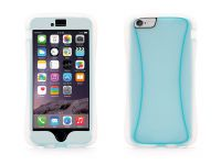 Griffin Survivor Slim, iPhone 6 Plus Case, Transparant Blauw - 18540