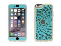 Griffin Identity Performance, iPhone 6 Plus Case, Flower Turquoise - 18557