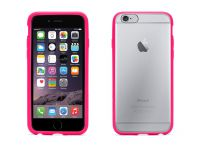 Griffin Reveal, iPhone 6 Hard Case en Bumper, Pink Transparant - 18559